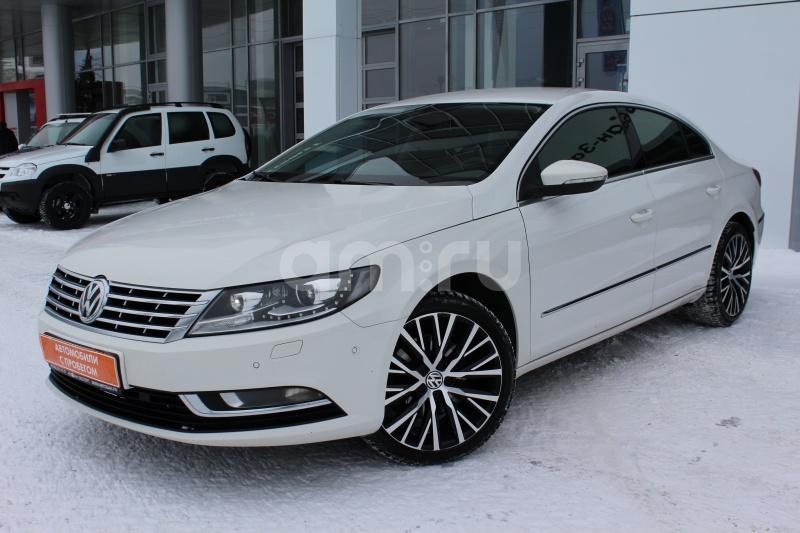 Volkswagen Passat CC с пробегом, белый , отличное состояние, 2012 года выпуска, цена 929 000 руб. в автосалоне Автобан-Запад (Екатеринбург, ул. Металлургов, д. 67)