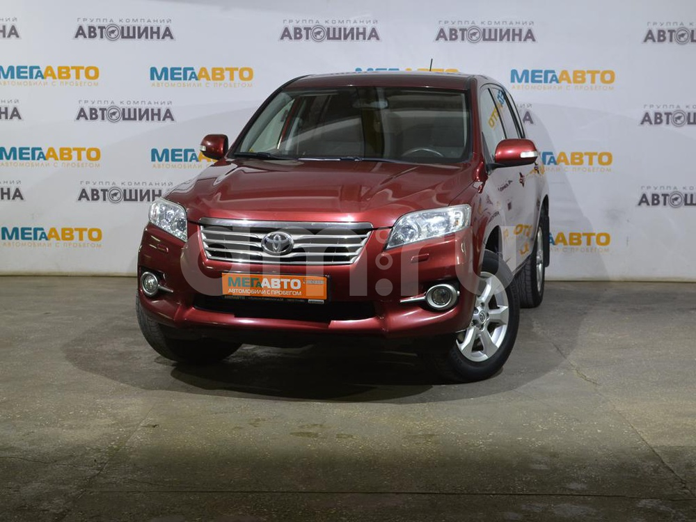 Toyota RAV4 с пробегом, красный металлик, отличное состояние, 2010 года выпуска, цена 805 000 руб. в автосалоне  ()