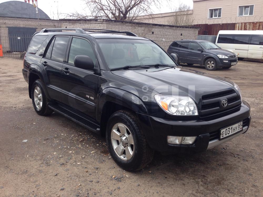 Подержанный Toyota 4Runner, хорошее состояние, черный , 2004 года выпуска, цена 880 000 руб. в Твери