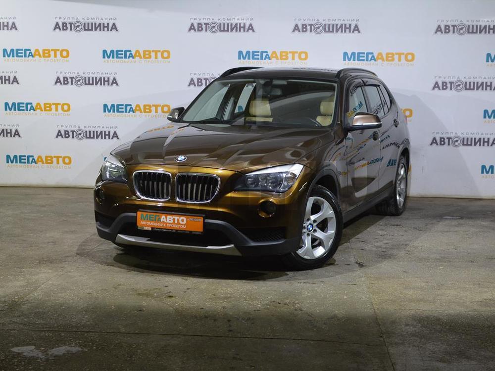 BMW X1 с пробегом, коричневый , отличное состояние, 2013 года выпуска, цена 919 000 руб. в автосалоне Мега Авто Калуга (Калуга, ул. Зерновая, д. 28)