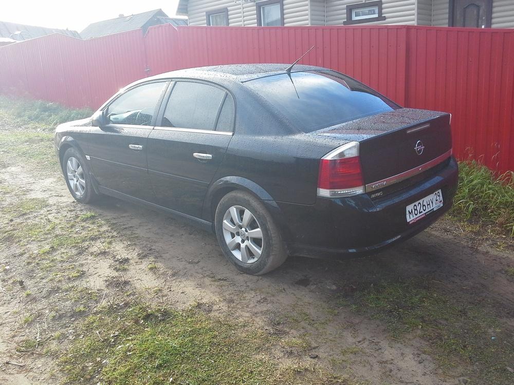 Подержанный Opel Vectra, отличное состояние, черный , 2007 года выпуска, цена 400 000 руб. в Архангельске