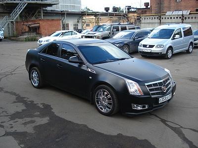 Подержанный Cadillac CTS, отличное состояние, черный матовый, 2008 года выпуска, цена 710 000 руб. в ао. Ханты-Мансийском Автономном округе - Югре