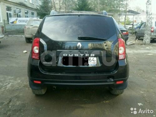 Подержанный Renault Duster, отличное состояние, черный , 2013 года выпуска, цена 515 000 руб. в Саратове