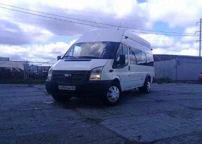 Подержанный Ford Transit, отличное состояние, белый , 2012 года выпуска, цена 750 000 руб. в Омске