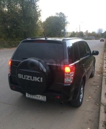 Подержанный Suzuki Grand Vitara, отличное состояние, черный перламутр, 2012 года выпуска, цена 720 000 руб. в Ульяновской области