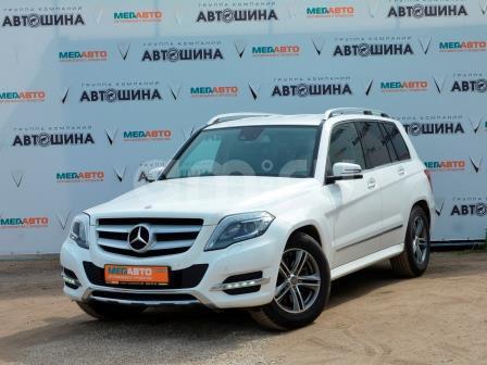 Mercedes-Benz GLK-Класс с пробегом, белый , отличное состояние, 2013 года выпуска, цена 1 370 000 руб. в автосалоне Мега Авто Калуга (Калуга, ул. Зерновая, д. 28)