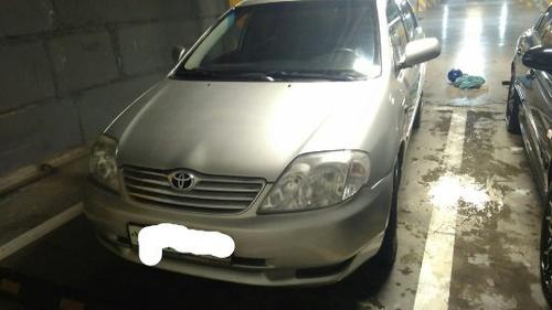 Подержанный Toyota Corolla, среднее состояние, серебряный , 2004 года выпуска, цена 205 000 руб. в Челябинской области