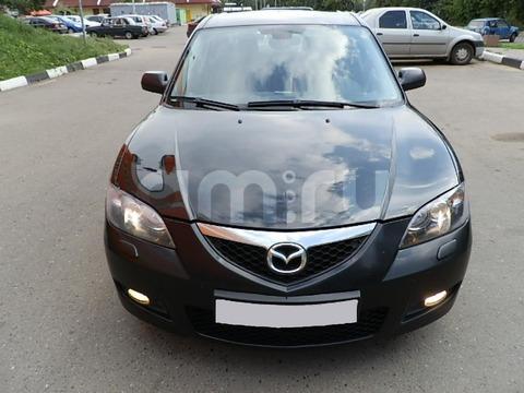 Подержанный Mazda 3, отличное состояние, черный , 2008 года выпуска, цена 415 000 руб. в республике Татарстане