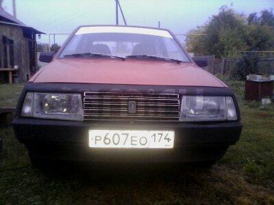 Подержанный ВАЗ (Lada) 2108, среднее состояние, красный , 1988 года выпуска, цена 25 000 руб. в Челябинской области