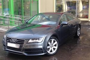 Подержанный автомобиль Audi A7, отличное состояние, 2013 года выпуска, цена 2 300 000 руб., Санкт-Петербург