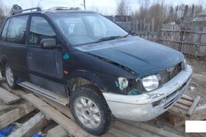 Автомобиль Mitsubishi RVR, битый состояние, 1993 года выпуска, цена 30 000 руб., Мегион