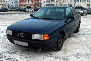 Автомобиль Audi 80, отличное состояние, 1989 года выпуска, цена 69 000 руб., Санкт-Петербург