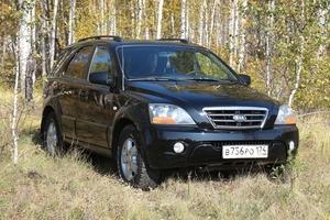 Подержанный автомобиль Kia Sorento, отличное состояние, 2007 года выпуска, цена 590 000 руб., Челябинск