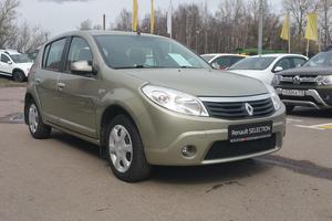 Авто Renault Sandero, 2013 года выпуска, цена 400 000 руб., Санкт-Петербург