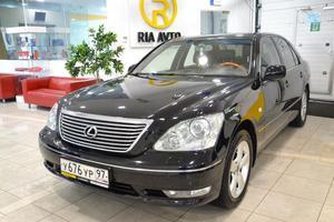 Авто Lexus LS, 2004 года выпуска, цена 600 000 руб., Москва