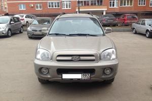 Автомобиль Hyundai Santa Fe, хорошее состояние, 2008 года выпуска, цена 445 000 руб., Щербинка