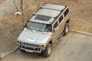 Автомобиль Hummer H2, отличное состояние, 2003 года выпуска, цена 1 555 000 руб., Хабаровский край