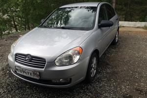 Автомобиль Hyundai Verna, хорошее состояние, 2007 года выпуска, цена 255 000 руб., Новоуральск
