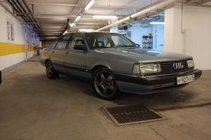 Подержанный автомобиль Audi 200, отличное состояние, 1991 года выпуска, цена 300 000 руб., Москва и область