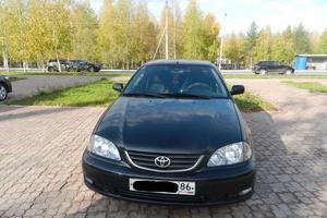 Подержанный автомобиль Toyota Avensis, отличное состояние, 2001 года выпуска, цена 300 000 руб., Нижневартовск