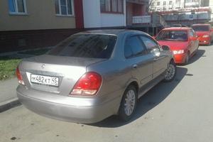 Автомобиль Nissan Bluebird, хорошее состояние, 2003 года выпуска, цена 210 000 руб., Челябинская область