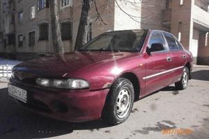 Автомобиль Mitsubishi Galant, среднее состояние, 1995 года выпуска, цена 70 000 руб., Балашиха