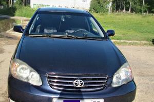 Автомобиль Toyota Corolla, хорошее состояние, 2002 года выпуска, цена 260 000 руб., Ульяновск