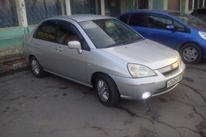 Автомобиль Suzuki Aerio, среднее состояние, 2001 года выпуска, цена 200 000 руб., Владивосток