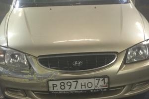 Подержанный автомобиль Hyundai Accent, среднее состояние, 2006 года выпуска, цена 190 000 руб., Московская область