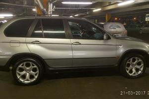 Автомобиль BMW X5, хорошее состояние, 2002 года выпуска, цена 400 000 руб., Щелково