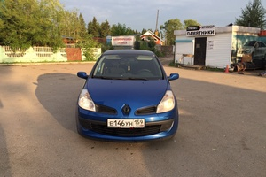 Автомобиль Renault Clio, хорошее состояние, 2008 года выпуска, цена 200 000 руб., Пермь