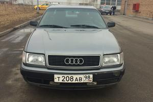 Автомобиль Audi 100, хорошее состояние, 1991 года выпуска, цена 130 000 руб., Санкт-Петербург