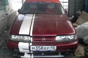Автомобиль Mazda Capella, битый состояние, 1993 года выпуска, цена 30 000 руб., Курган