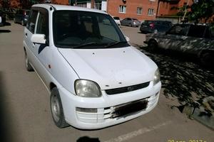 Автомобиль Subaru Pleo, среднее состояние, 2002 года выпуска, цена 116 000 руб., Краснодарский край