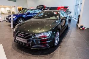 Новый автомобиль Audi A7, 2017 года выпуска, цена 4 009 434 руб., Москва