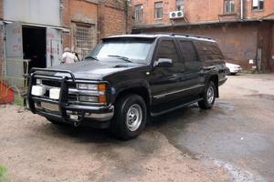 Подержанный автомобиль Chevrolet Suburban, отличное состояние, 1998 года выпуска, цена 900 000 руб., Санкт-Петербург