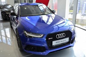 Новый автомобиль Audi RS 6, 2017 года выпуска, цена 6 961 850 руб., Москва