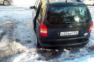 Подержанный автомобиль Opel Zafira, отличное состояние, 1997 года выпуска, цена 270 000 руб., Карталы