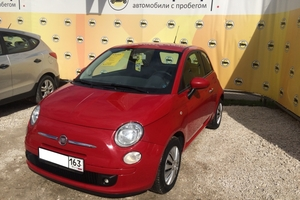 Авто Fiat 500, 2012 года выпуска, цена 495 000 руб., Самара