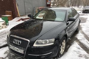 Подержанный автомобиль Audi A6, хорошее состояние, 2005 года выпуска, цена 490 000 руб., Москва