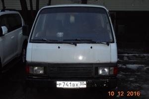Автомобиль Nissan Urvan, битый состояние, 1990 года выпуска, цена 80 000 руб., Астрахань