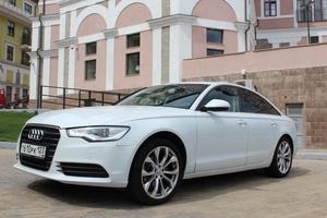Автомобиль Audi A6, хорошее состояние, 2012 года выпуска, цена 1 145 000 руб., Краснодар
