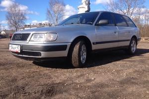 Подержанный автомобиль Audi 100, хорошее состояние, 1991 года выпуска, цена 150 000 руб., Санкт-Петербург