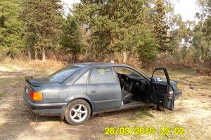 Подержанный автомобиль Audi 100, хорошее состояние, 1992 года выпуска, цена 200 000 руб., Санкт-Петербург