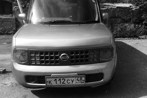 Автомобиль Nissan Cube, среднее состояние, 2002 года выпуска, цена 203 000 руб., Липецк