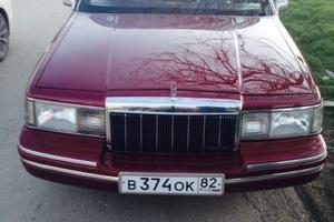 Автомобиль Lincoln Town Car, отличное состояние, 1992 года выпуска, цена 550 000 руб., Симферополь