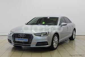 Подержанный автомобиль Audi A4, отличное состояние, 2016 года выпуска, цена 1 369 000 руб., Москва