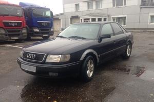 Автомобиль Audi 100, среднее состояние, 1993 года выпуска, цена 100 000 руб., Москва