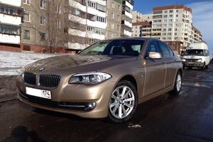 Автомобиль BMW 5 серия, отличное состояние, 2013 года выпуска, цена 1 540 000 руб., Магнитогорск
