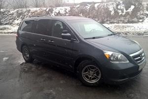 Автомобиль Honda Odyssey, хорошее состояние, 2005 года выпуска, цена 550 000 руб., Санкт-Петербург